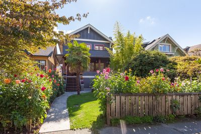 a beautiful character home in Kits, a must! Owner is Superhost!
