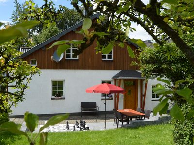 Photo for At SCHMEDTE family-friendly and quiet, with games rooms, terrace with barbecue
