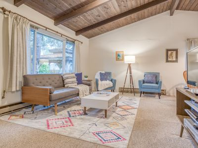 Photo for Welcoming Manzanita Cottage is Three Blocks to Beach or Town!