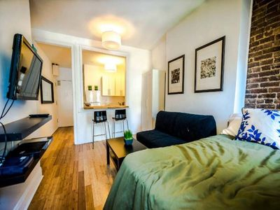 Photo for Studio apartment 1.4 km from the center of New York with Internet, Air conditioning (983311)