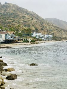 Photo for Chic Beach Cottage on Private Beach in Malibu--private road close to shops