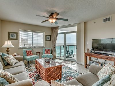 Photo for Beautiful Ocean View Condo, Corner Unit, Lazy River | Crescent Keyes - 1201