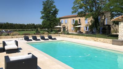 Photo for Old farmhouse renovated with style in the heart of Luberon