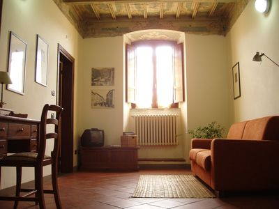 Photo for Period residence, in the historic center, apartment for five people.