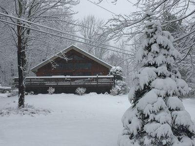 Photo for Private Country Chalet With Great Winter Views