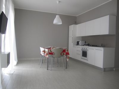Photo for House Cortivi - New two-room apartment with balcony in Lake Garda views