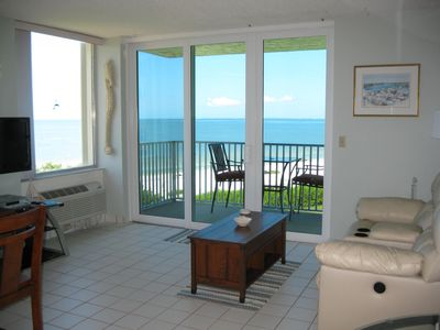 Photo for Breathtaking Gulf View, Fabulous Sunsets, Relaxing-7 Miles Of White Sandy Beach