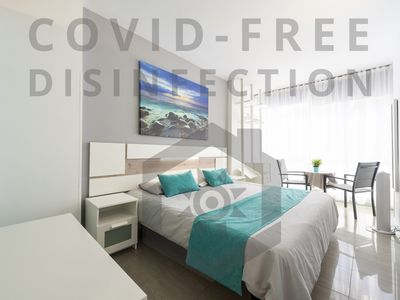 Photo for New Apt. at first line of Las Canteras Beach