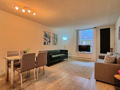 Photo for New 2 bedrooms flat in downtown,old port, parking
