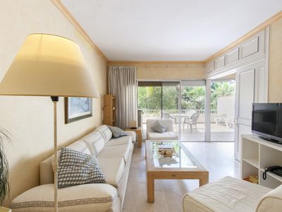Photo for Spacious Alonso Onorato apartment in Marbella Centro with WiFi, integrated air conditioning, privat…
