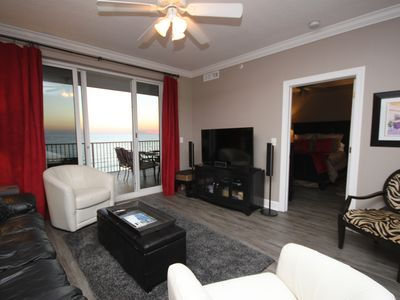 Photo for Gulf Front- Best Rates- Free Wi Fi 10'x30' Balcony. Completely Upupdated Jan