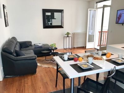 Photo for Beautiful duplex downtown (Halles) and close to beaches