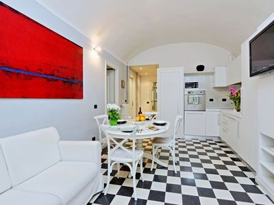 Photo for Rome Accommodation near Colosseum & Roman Forums-Prestigious Apartment Sleep 8