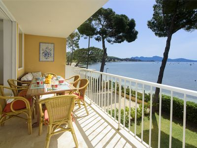Photo for Marisol Frontline Pine Walk seafront apartment. AIR-CON,WIFI