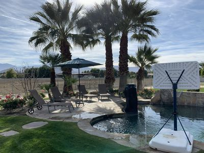 Photo for Beautiful Home on Yucca Lane. CoachellaFest Party Area!