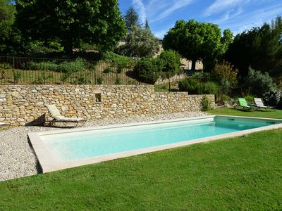 Photo for Drôme / baronnies provençales, restored old house with private pool