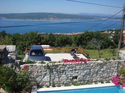 Photo for Villa Ljuba - Amazing sea view on the whole Kvarner bay