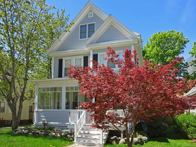 Photo for The Parsonage: Bar Harbor Village Close to Hiking with Updated Comfort and Style