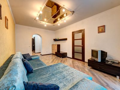Photo for Bright two bedroom apartment on Lev Tolstoy Street