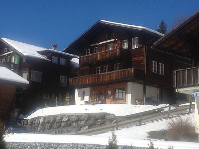 Photo for Apartment in the center of Grindelwald with Parking, Internet, Garden (325709)