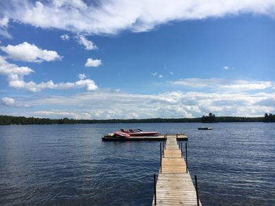 Photo for Sandy Beach Cottage on Chandos Lake