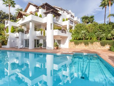 Photo for Magnificent Penthouse in Alcazaba Beach Estepona