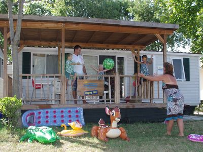 Photo for Mobilehome at camping Bella Italia