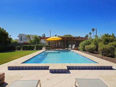 Photo for NEW LISTING! Mountain view home w/pool & patio-near downtown!