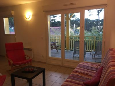 "Photo for Apartment ""Les Vagues"" 2 to 7 people, parking, wifi 10 min. from the beach."