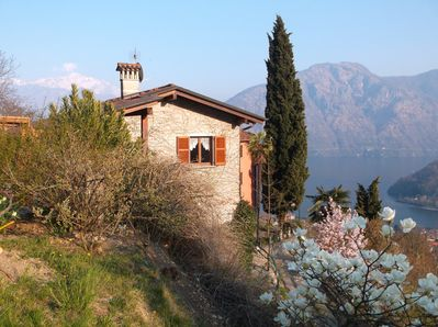 The Cottage and its views