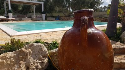 Photo for Elegant villa with swimming pool in Salento