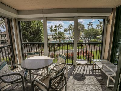 Beachfront 2/2 condo at the north end of the Island just across from Sea Grape Plaza
