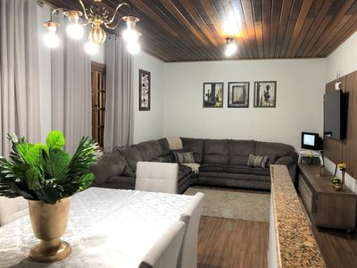 Photo for BEAUTIFUL HOUSE IN CAMPOS DO JORDÃO OLD LOCATION. SPECIAL PRICE FROM SECOND A