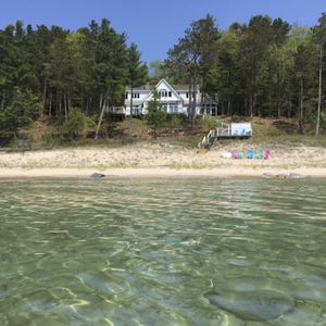 Photo for Beautiful Quiet and Serene Cottage On Lake Michigan