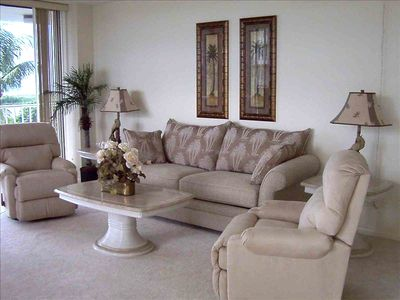 A comfortable living room where you can rest