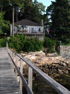 Photo for CRASHING SURF, GUESTS MAY USE ALL THE AMENITIES OF THE SPRUCE POINT INN