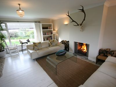 Photo for 200m from Croyde beach, a  refurbished 60's bungalow, 5 mins from vill
