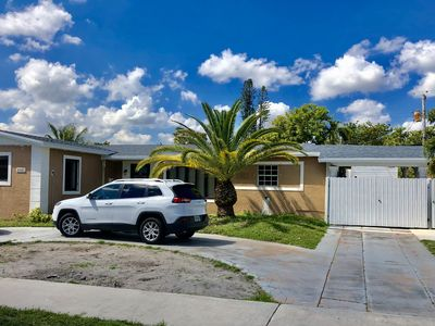 Photo for Relaxing and remodel RV close to Hard Rock Stadium