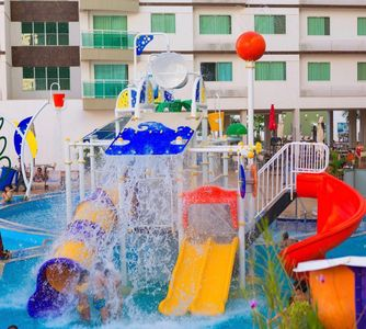 Photo for Riviera Park Hotel - 2 bedroom Ap with 1 suite. 13 thermais pools.