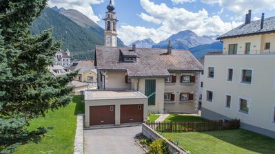 Photo for Holiday apartment Samedan for 4 persons with 2 bedrooms - Holiday apartment