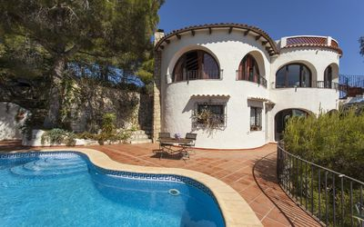 Photo for WOLF Villa for 8 people with magnificent views of the Mediterranean