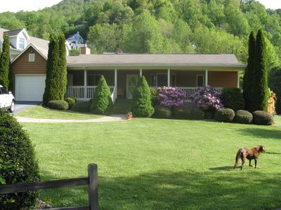 Photo for In Town, Walk to Restaurants, Garage, Serenity, Babbling Creek and Mountain View