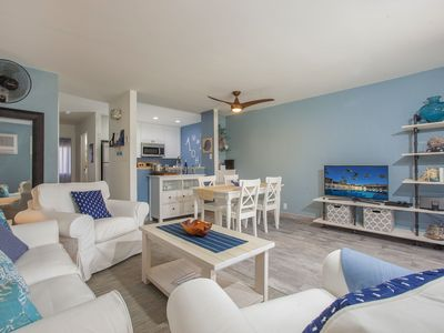 Photo for Great Location- Quiet Beach, Small Complex, Walk to Bars & Restaurants