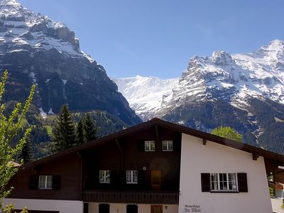 Photo for Apartment 108 m from the center of Grindelwald with Parking, Internet, Washing machine, Balcony (38459)