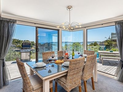 Photo for Motu Tiro - Designer Paihia Holiday Home