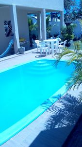 Photo for 3/4 house with pool on the island of Vera Cruz