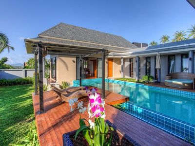 Photo for Ibiscus Charming private pool villa 2BR