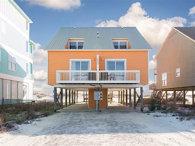 Photo for Just a Flip Flop Throw from the Water, Beautiful Ocean Front Beach House(Duplex)