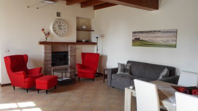 Photo for Vacation-apartment in a farmhouse near GardaLake, ideal for families