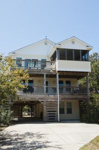 Photo for Perfect Beach Getaway! Beautiful Home - 2 Streets To The Beach